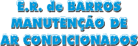 E.R de Barros Manutenção de Ar-Condicionados