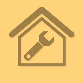 Gen servi para casa yellow square