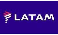 Logo de LATAM® - Aeroporto Internacional Hercílio Luz em Carianos