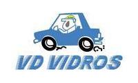 Logo de VD Vidros em Pau Miúdo