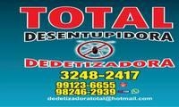 Logo de Total Dedetizadora - Desratização, Descupinização e Controle de Pragas em Aparecida de Goiânia