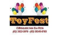 Logo Toyfest em Areão