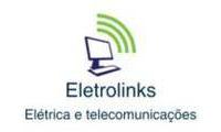 Logo Eletrolinks Elétrica e Telecomunicações em Paraíso