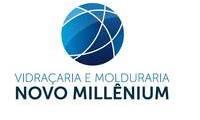 Logo de Vidraçaria E Molduraria Novo Millenium em Santo Antônio