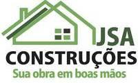 Logo de JSA Construçoes em Pontal