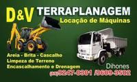 Logo D&V Terraplenagem E Locação de Máquinas