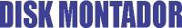 Logo de Disk Montador em Piçarra