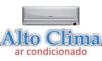 Logo de Alto Clima - Manutenção de Ar Condicionado em Df