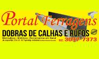 Logo de Portal Ferragens - Calhas e Rufos em Goiânia GO