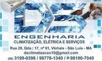 Logo de DS ENGENHARIA CLIMATIZACAO ELETRICA E SERVICOS em Vinhais
