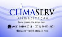 Logo de Climaserv Climatização em Ilha Amarela