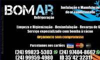 Logo de Bom Ar Refrigeração E Manutenção em Jardim Vila Rica - Tiradentes