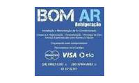 Logo de Bom Ar Refrigeração e Climatizacao