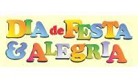 Logo de Dia de Festa & Alegria em Conjunto Vera Cruz