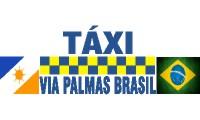 Logo de Táxi Via Palmas Brasil