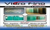 Logo de Vidraçaria Vidro Fino em Setor Habitacional Samambaia (Vicente Pires)