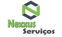 Logo de Nexxus Serviços em Boné Azul