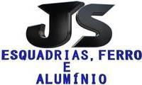 Logo de JS - Esquadrias, Ferro e Alumínio