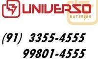 Logo UNIVERSO BATERIAS em Pedreira
