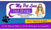 Logo de MY PET LOVE  em Centro