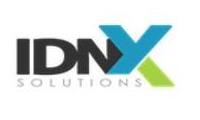 Logo de IDNX Solutions - Telecomunicações em Centro