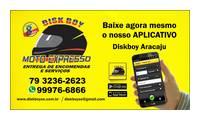 Logo de Disk Boy Moto Expresso em Dezoito do Forte