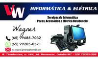 Logo de Vw Informática em Jardim Leblon