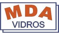 Logo de MDA Vidros - Vidraçaria, Espelhos e Box para Banheiros