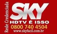 Logo de SKY HDTV - A sua Tv por assinatura ! em Boa Vista