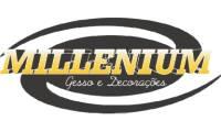 Logo de Millenium Gesso E Decorações em Ouro Branco