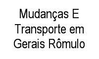 Logo de Mudanças E Transporte em Gerais Rômulo em Mantiqueira