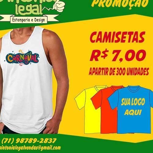87012dcb1403f Sintonia Legal Estamparia e Design em Tancredo Neves - Camisetas ...
