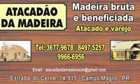 Logo Atacadão da Madeira - Madeiras em Curitiba em Butiatuvinha
