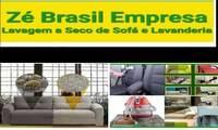 Logo de Zé Brasil - Lavagem a Seco e Lavanderia (Cortinas, Tapetes, Colchão e Banco de Carros) em Alphaville I