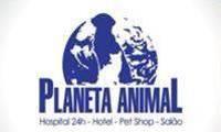 Logo de Planeta Animal em Barra