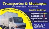 Logo de JM TRANSPORTES E MUDANÇAS em Pajuçara