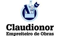 Logo Claudionor Empreiteiro de Obras em Fazendinha