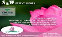 Logo de Desentupidora Rosa-Sw em Ingleses do Rio Vermelho