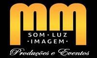 Logo de MM som, iluminação e imagem