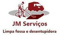 Logo de JM Serviços - Limpa fossa e desentupidora