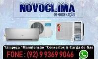 Logo Novo Clima Refrigeração