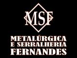 Msf Metalúrgica & Serralheria Fernandes.