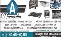 Logo de A DOMICILIO FOGOES E FORNOS em Centro