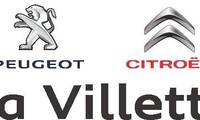 Logo de La Villette Peugeot Citroën em Ponte Alta
