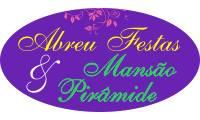 Logo de Abreu Festas & Mansão Pirâmide em Park Way