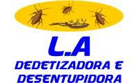 Logo de L.A Dedetizadora E Desentupidora