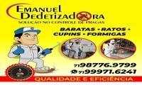 Emanuel Desinsetizadora em Tancredo Neves