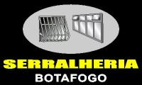 logo da empresa Botafogo Serralheria -Tudo em Ferro e Alumínio