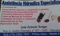 Logo de Assistência Hidráulica Especializada