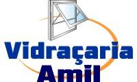 Logo de Vidraçaria Amil vidros